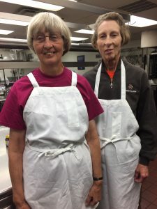 Sisters in How baking works class