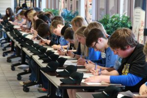 Students at signing day