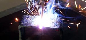 welding up close