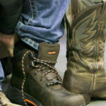 North Central Oklahoma Home Builders Association and Atwoods Ranch and Home Provide Work Boots for All Meridian Building Trades Students